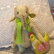 Куклы и игрушки ручной работы. Ярмарка Мастеров - ручная работа Слон суровый. Зимний. Handmade.