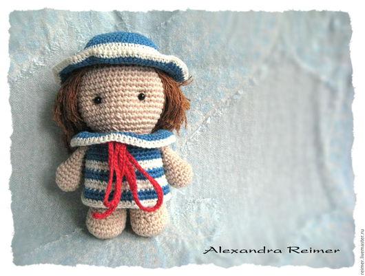 Человечки ручной работы. Ярмарка Мастеров - ручная работа. Купить Кукла Аня. Handmade. Кукла, вязаная игрушка, амигуруми