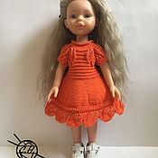 Одежда для кукол ручной работы. Ярмарка Мастеров - ручная работа Платье для кукол Паола Рейна. Handmade.
