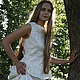 """Юбки ручной работы. Заказать Внесезонная юбка """"Для белого мотылька"""". Елена Шальнева (Elena Shalneva). Ярмарка Мастеров."""