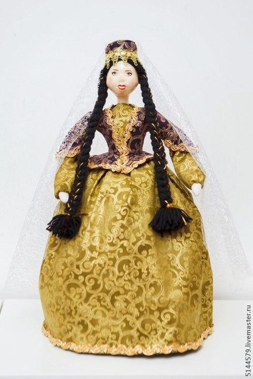 """Кухня ручной работы. Ярмарка Мастеров - ручная работа. Купить Кукла на чайник """"Азербайджанская красавица"""". Handmade. Народная кукла, для чаепития"""