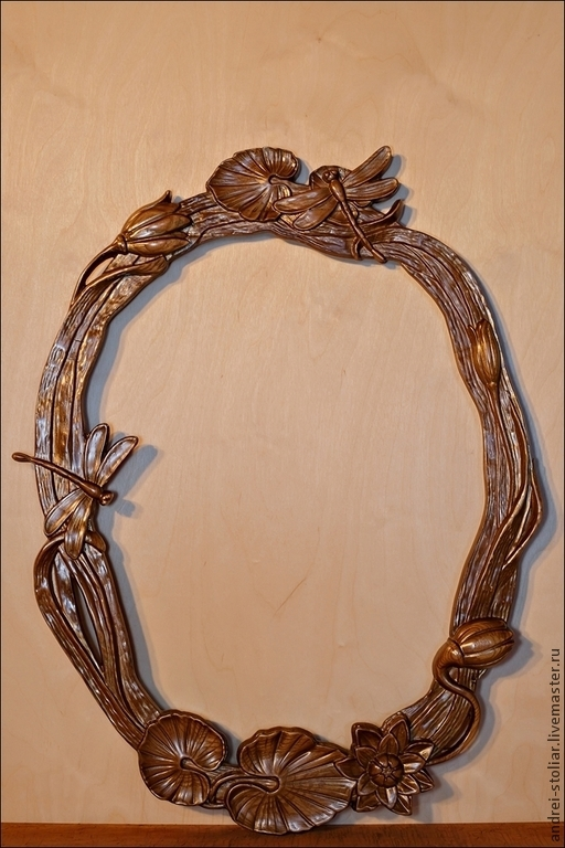 Зеркала ручной работы. Ярмарка Мастеров - ручная работа. Купить Рама для зеркала (002). Handmade. Рама для зеркала, деревянная рама