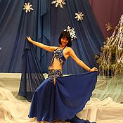 Одежда ручной работы. Ярмарка Мастеров - ручная работа Костюм для восточного танца живота. Handmade.