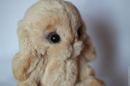 Мишки Тедди ручной работы. Ярмарка Мастеров - ручная работа. Купить Тедди Зайчик (Крольчонок) - Глория. Handmade. Бежевый, зайка