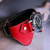 Украшения handmade. Livemaster - original item Women`s Wristwatches Buterfly Red. Handmade.