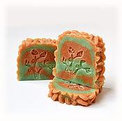 """Косметика ручной работы. Ярмарка Мастеров - ручная работа Мыло с нуля """"Манго & абрикос"""". Handmade."""