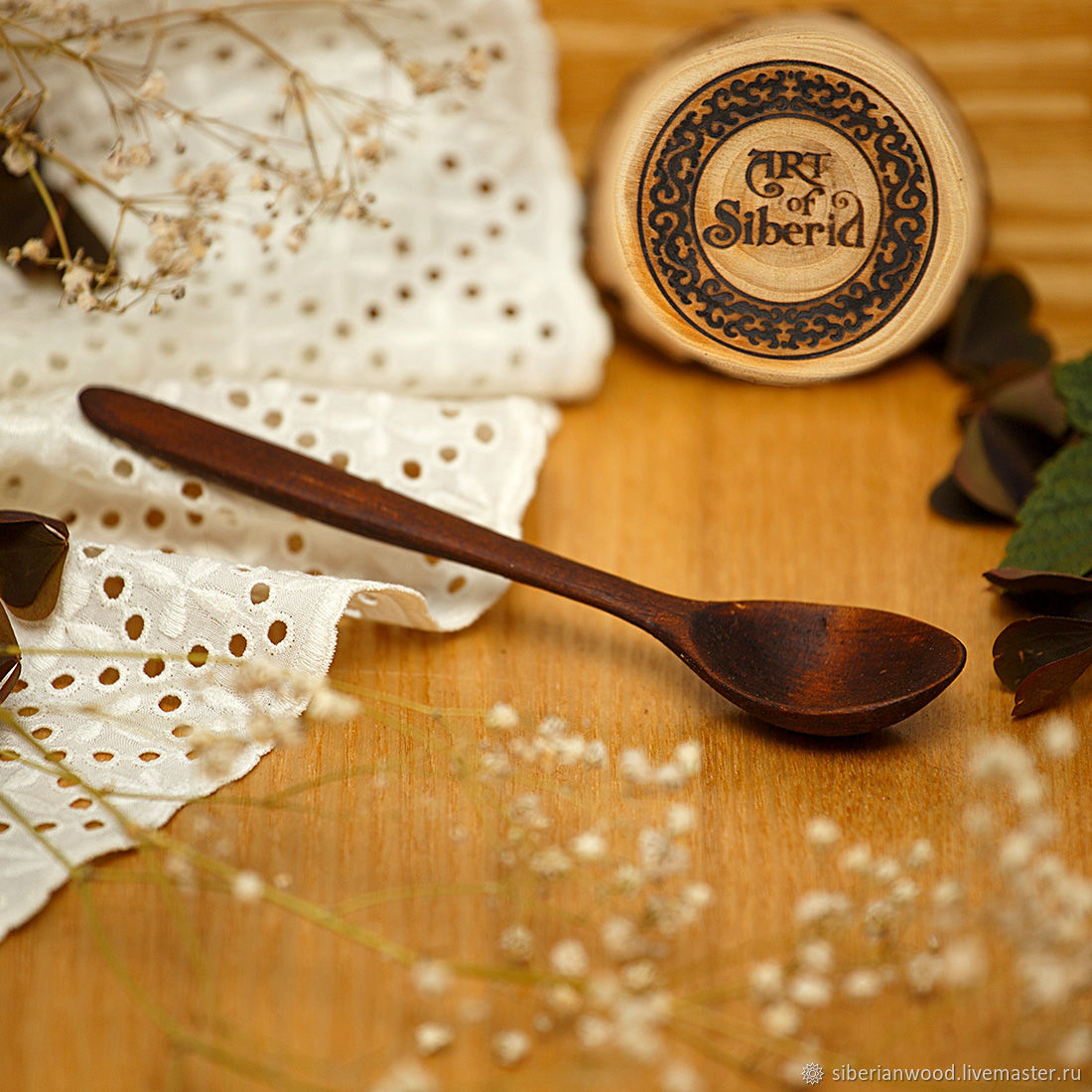 Wooden spoon 145#4, Spoons, Novokuznetsk,  Фото №1