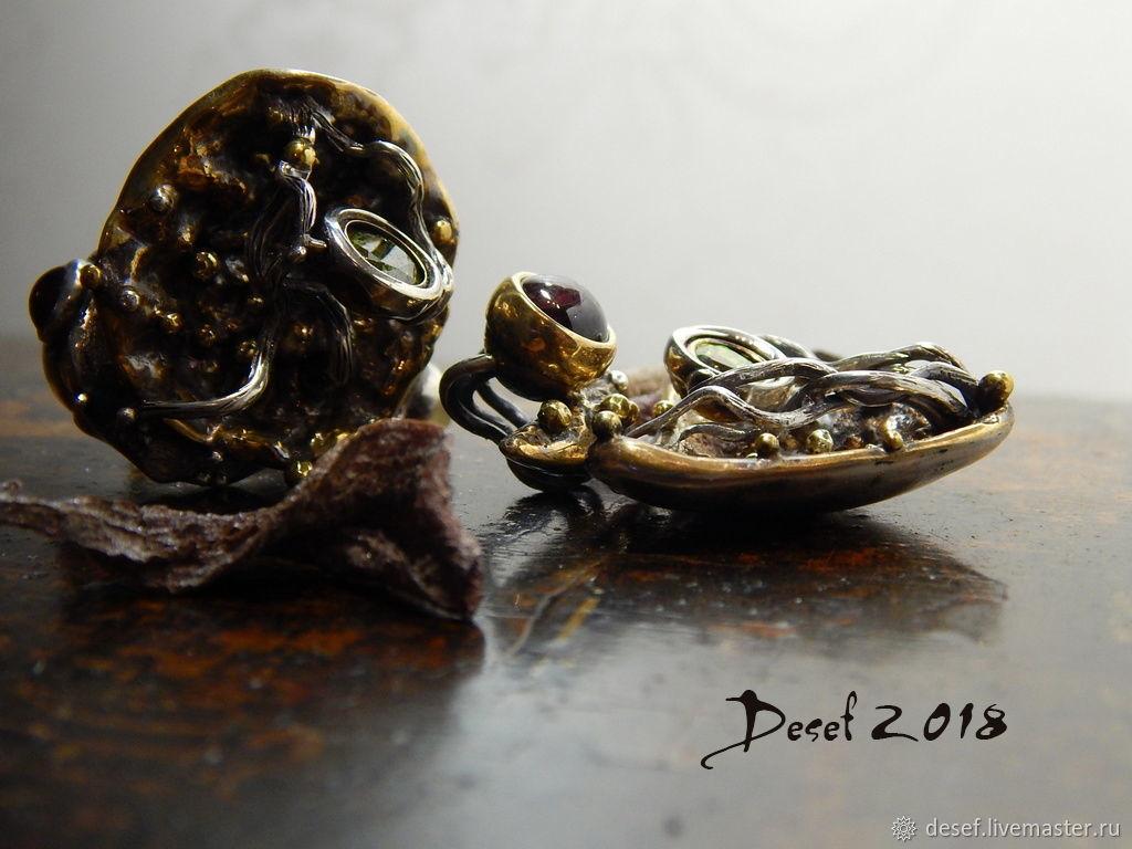 Ring and pendant ' Princess frog', Rings, Kurgan,  Фото №1