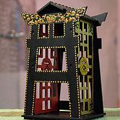Для дома и интерьера ручной работы. Ярмарка Мастеров - ручная работа Чайный домик в китайском стиле.. Handmade.