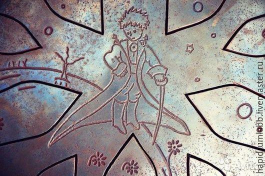 """Ударные инструменты ручной работы. Ярмарка Мастеров - ручная работа. Купить Большой глюкофон - """"Маленький принц"""" - 10 нот. Handmade."""