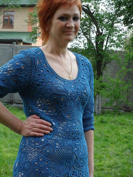 Платья ручной работы. Ярмарка Мастеров - ручная работа. Купить платье ЛОРЕНА. Handmade. Авторская работа, хлопок с вискозой