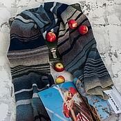 Аксессуары handmade. Livemaster - original item Scarf knitted from 100% wool,