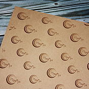 Материалы для творчества ручной работы. Ярмарка Мастеров - ручная работа Крафт бумага с вашим логотипом. Handmade.
