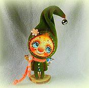 """Куклы и игрушки ручной работы. Ярмарка Мастеров - ручная работа Снотворец """"Солнечный гномик"""". Handmade."""