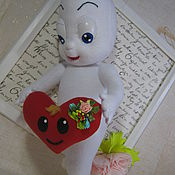 Мягкие игрушки ручной работы. Ярмарка Мастеров - ручная работа Текстильная игрушка Каспер. Handmade.