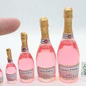 Куклы и игрушки handmade. Livemaster - original item Champagne for dolls pink. Handmade.