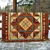 Bedspreads handmade. Livemaster - original item Bedspreads: Sudarushka patchwork. Handmade.