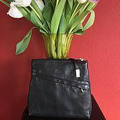 handmade. Livemaster - original item Vintage leather handbag Italy. Handmade.