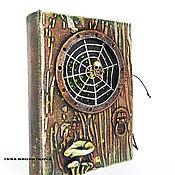 """Канцелярские товары ручной работы. Ярмарка Мастеров - ручная работа Блокнот """"Дверь в сказку"""". Handmade."""