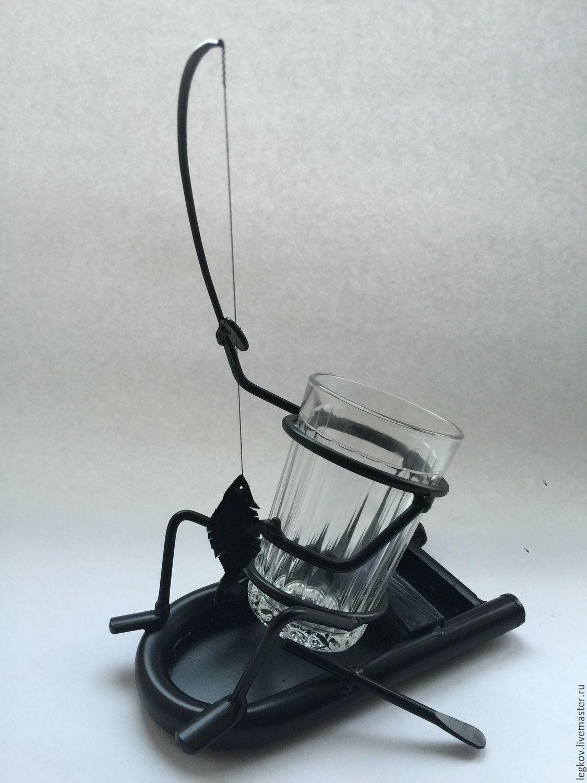 Holder 'Fisherman boat', Water Glasses, Kolchugino,  Фото №1