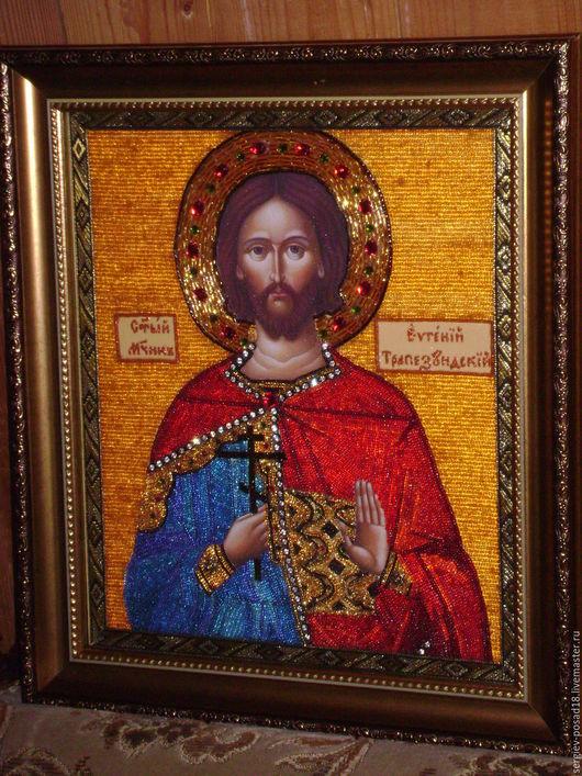Именная Икона Св. мч. Евгения Трапезундского.