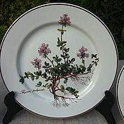 "Обеденные тарелки Villeroy&Boch, ""Botanica"", Люксембург"