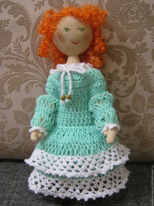 Человечки ручной работы. Ярмарка Мастеров - ручная работа. Купить Стефания кукла. Handmade. Рыжий, куклы и игрушки, купить подарок