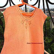 Одежда handmade. Livemaster - original item Knitted top