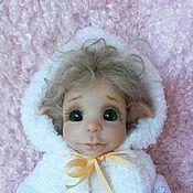 Куклы и игрушки ручной работы. Ярмарка Мастеров - ручная работа Малышка эльфочка Эля. Handmade.