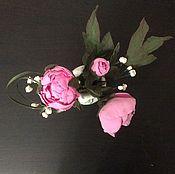 Цветы и флористика ручной работы. Ярмарка Мастеров - ручная работа Маленькие пионы для большой любви. Handmade.