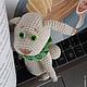 Сказочные персонажи ручной работы. Детство Белого кролика. НаталИ                 (Добрый Кот). Ярмарка Мастеров. Алиса, чудо, наполнитель синтепух