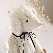 Куклы и игрушки ручной работы. Ярмарка Мастеров - ручная работа Белая собачка. Handmade.