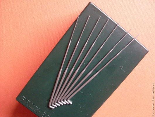 Валяние ручной работы. Ярмарка Мастеров - ручная работа. Купить Треугольная № 38, игла для валяния, GROZ BECKERT, Германия, цена за 1. Handmade.