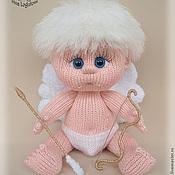 Куклы и игрушки ручной работы. Ярмарка Мастеров - ручная работа Вязаная игрушка Амурчик. Handmade.