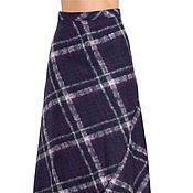 Одежда ручной работы. Ярмарка Мастеров - ручная работа Юбка макси 95 см из валяного шерстяного трикотажа K3P. Handmade.