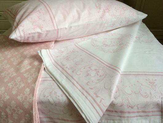 """Текстиль, ковры ручной работы. Ярмарка Мастеров - ручная работа. Купить Комплект из поплина """" Сладкий сон"""" 2 СП-евро. Handmade."""