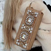 Сумки и аксессуары ручной работы. Ярмарка Мастеров - ручная работа Клатч из кожи в стиле Dolce & Gabbana. Handmade.
