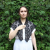 Аксессуары handmade. Livemaster - original item Kerchief SPASSKAYA Vologda Vyatka lace. Handmade.