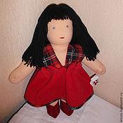 Куклы и игрушки ручной работы. Ярмарка Мастеров - ручная работа Вальдорфская кукла Скарлетт. Handmade.