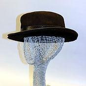 """Аксессуары ручной работы. Ярмарка Мастеров - ручная работа шляпа """"MORMON"""". Handmade."""