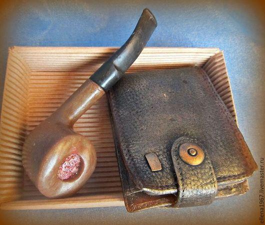 Мыло ручной работы. Ярмарка Мастеров - ручная работа. Купить Мыльный набор  Портмоне и трубка. Handmade. Мыло ручной работы