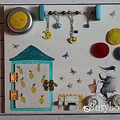 """Куклы и игрушки ручной работы. Ярмарка Мастеров - ручная работа Бизиборд """"Поздравляю"""". Handmade."""