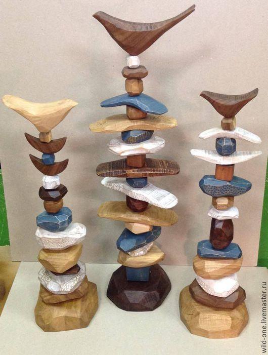 Элементы интерьера ручной работы. Ярмарка Мастеров - ручная работа. Купить тотем деревянный ручной работы. Handmade. Комбинированный