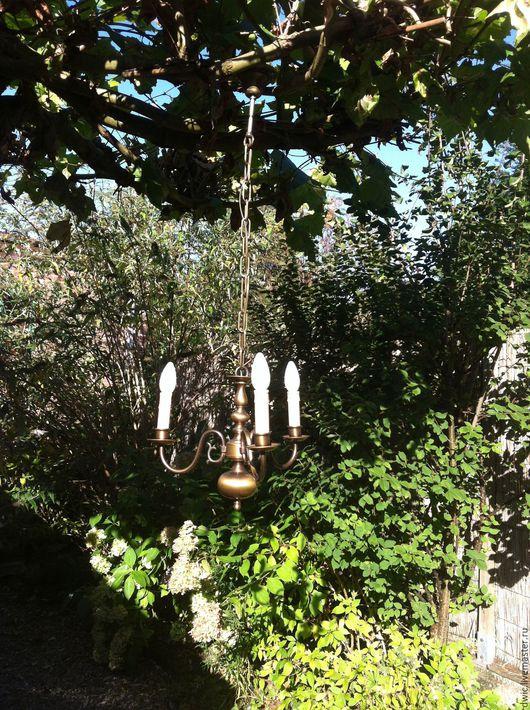 Винтажные предметы интерьера. Ярмарка Мастеров - ручная работа. Купить Светильник подвесной потолочный,  Голландия. Handmade. Свет, для дома, металлофурнитура