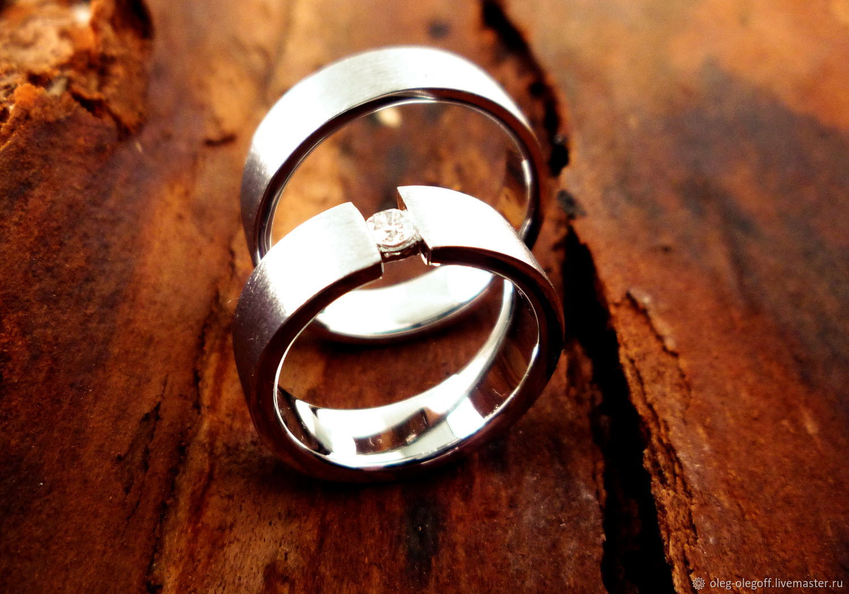 Свадебные украшения ручной работы. Ярмарка Мастеров - ручная работа. Купить  Обручальные кольца на заказ ... d30c1ffc832