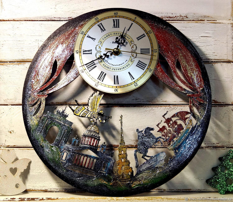 Gift clock Saint-Petersburg Scarlet Sails, Watch, St. Petersburg,  Фото №1