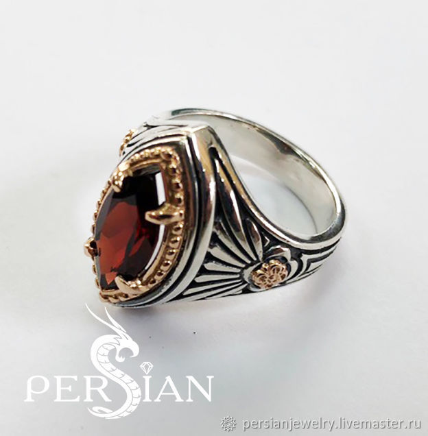 Silver ring of the Marquis of the East, Rings, Sevastopol,  Фото №1