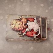 Куклы и игрушки ручной работы. Ярмарка Мастеров - ручная работа Очень маленький мумик. Handmade.