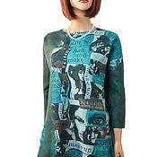 Одежда handmade. Livemaster - original item Felted wool tunic