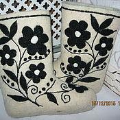 Обувь ручной работы handmade. Livemaster - original item Boots hand felting. Handmade.